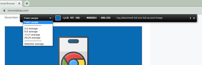 colorzilla extension for chrome