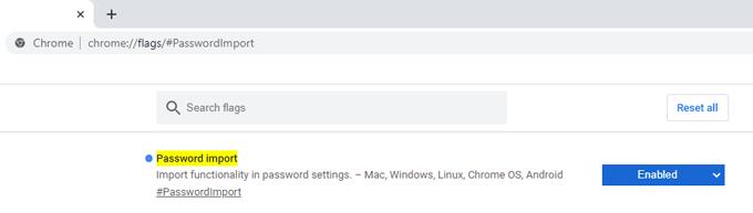 password import
