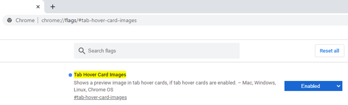 tab hover cards