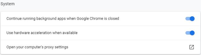 Enable Chrome hardware acceleration